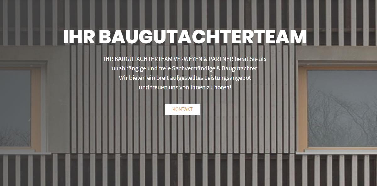 Baugutachter München 🥇  BAUGUTACHTERTEAM VERWEYEN & PARTNER ✔ Sachverständiger, Hauskaufberatung