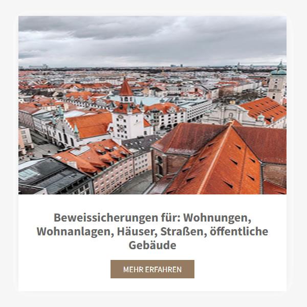 Bauvorhaben Beweisssicherung aus  Unterhaching