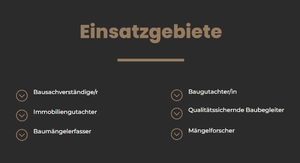 Baugutachter Einsatzgebiete in  Unterhaching, Grünwald, Brunnthal, Pullach (Isartal), Oberhaching, Hohenbrunn, Putzbrunn und Taufkirchen, Ottobrunn, Neubiberg