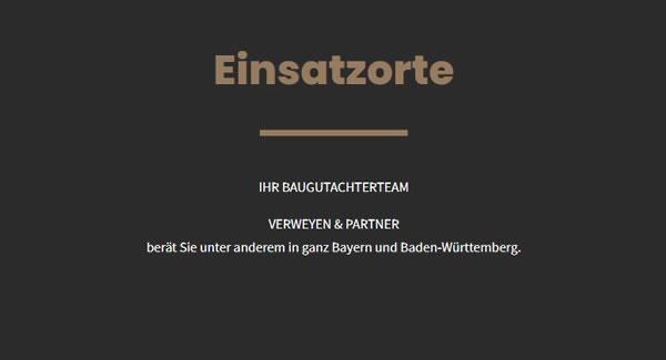 Bausachverständgier Einsatzorte für 82024 Taufkirchen - Am Wald, Pötting, Winning und Potzham