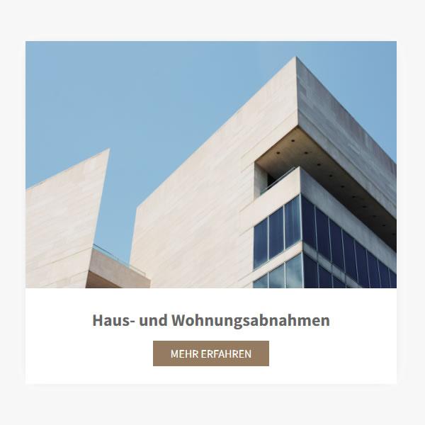 Hausbau Abnahmen aus  München