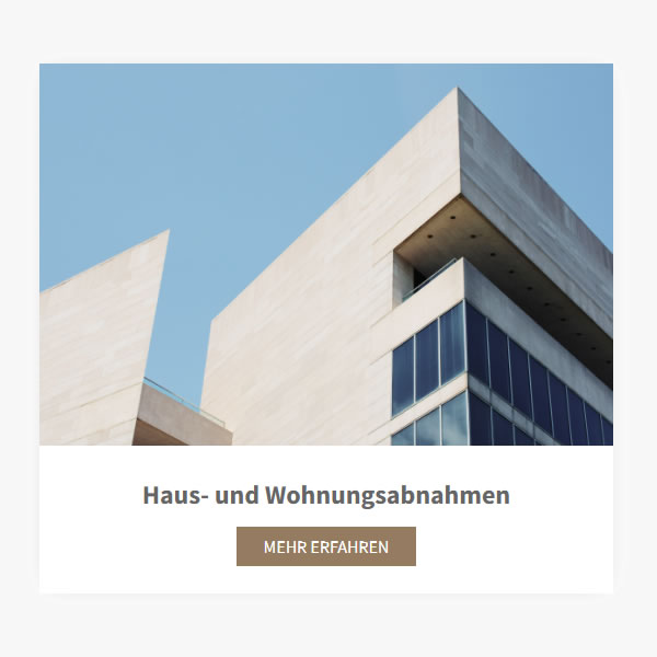 Hausbau Abnahmen aus  Unterhaching