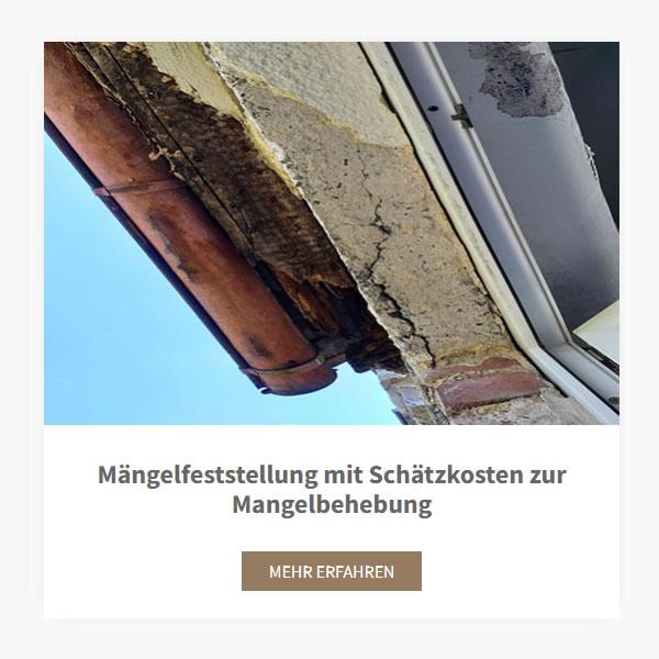 Maengelfeststellung Mangelbehebung aus 82024 Taufkirchen